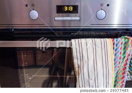 Modern metal oven controls 29377485
