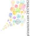 水彩纹理彩虹颜色肥皂泡 29378062