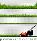 Lawnmower With Green Grass 29381430