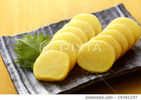 醃蘿蔔 醃製 鹹菜 29382297
