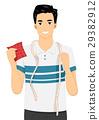Man Sew Tape Measure Sample Fabric 29382912