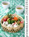 野餐籃 日式便當 黃豆米飯 29383191
