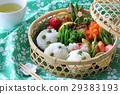 野餐籃 日式便當 黃豆米飯 29383193