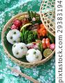 野餐籃 日式便當 黃豆米飯 29383194