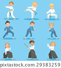 Kids On Martial Arts Training 29383259