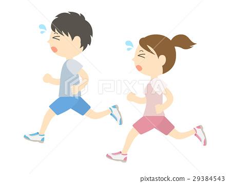 奔跑 奔跑者 男人 29384543
