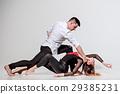 Two people dancing 29385231