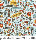 符号 澳大利亚 澳洲 29385386