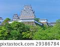 himeji castle, castle tower, tenshukaku 29386784