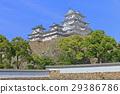 himeji castle, castle tower, tenshukaku 29386786