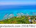 海岸線 夏威夷 懷基基海灘 29387862