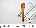 Table Minimal Setting Spatula Napkin Top View 29389165