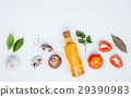 Various vegetable and ingredients . 29390983