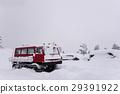 눈, 스노우, 자동차 29391922