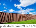 푸른 하늘, 파란 하늘, 잔디밭 29392179