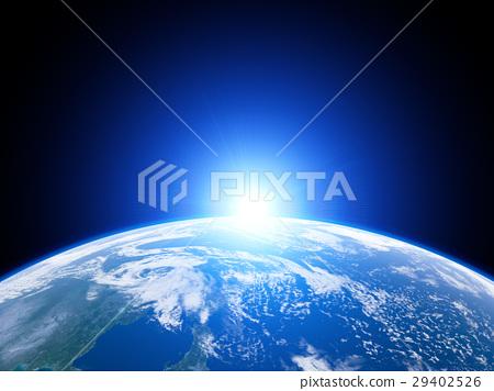 太陽升起的地球 29402526