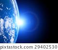 earth, globe, solar 29402530