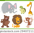 animals, cartoon, illustration 29407211