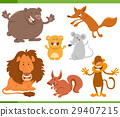 cute animal characters set 29407215