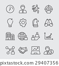 Business line icon 2 29407356