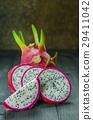 Fresh dragon fruit 29411042