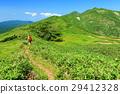 mountain, climber, mountain trail 29412328