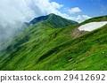이데 연봉 · 御西岳 부근에서 볼 구름 솟는 大日岳 29412692