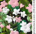 Plumeria pudica pattern 29414348