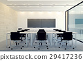 Modern interior of business conference room  29417236