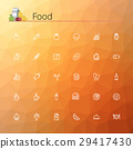 Food Line Icons 29417430