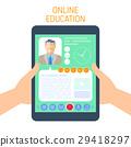 education, e-learning, smartphone 29418297