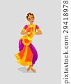 Illustration, indian, vector 29418978