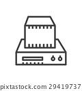 Machine 3D print icon 29419737