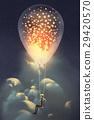 氣球 汽球 天空 29420570