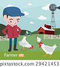 farm, farmer, vector 29421453