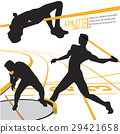 Athletes Sports Action illustration vector 29421658
