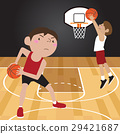 basketball player cartoon vector illustration 29421687