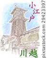 kawagoe, koedo kawagoe, kawagoe city 29423397