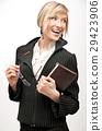 Closeup portrait of an attractive businesswoman 29423906