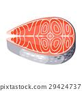salmon seafood raw 29424737