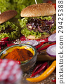 american, beef, burger 29425388