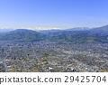 street, nagano prefecture, hokuriku shinkansen 29425704