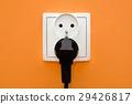 Electrical socket in wall 29426817