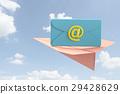 เมล,พับเครื่องบินกระดาษ,คอมพิวเตอร์กราฟฟิค 29428629