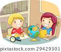 Kids Geography Study Room 29429301