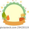 Seasonal Board Ribbon Autumn 29429319