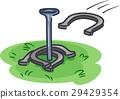 Game Horseshoe Pit Throw 29429354