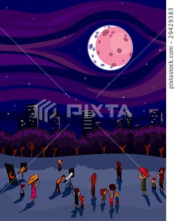 Lunar Eclipse Observation 29429383