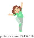 女孩 少女 舞蹈 29434016
