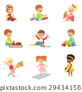 children, playing, toy 29434156
